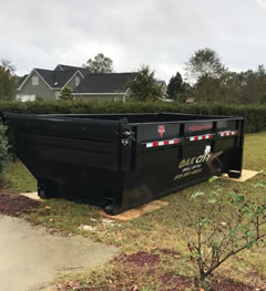 We Use Dumpsters For Siding Removal Projects To Keep The Job Site Clean.