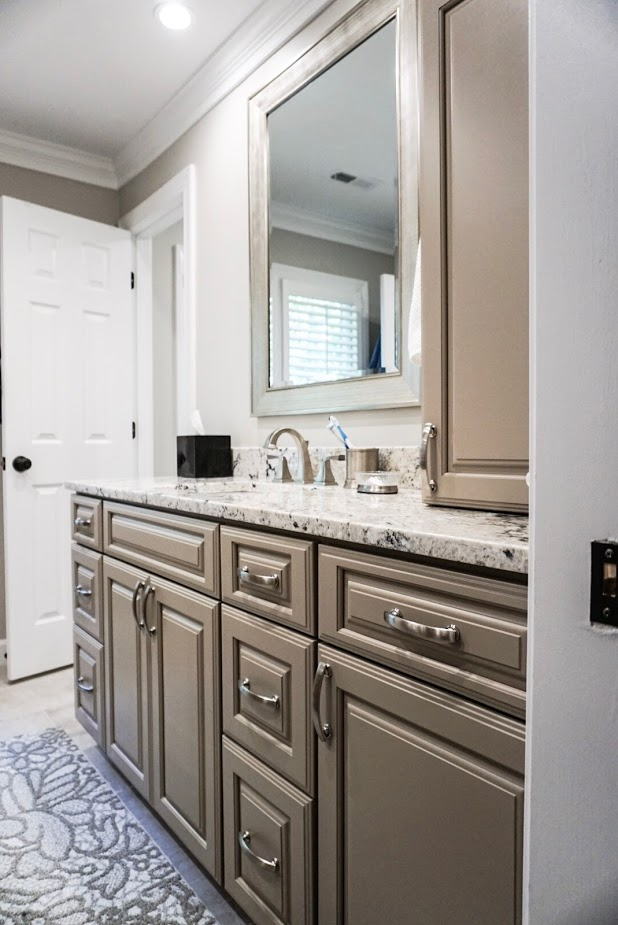Granite Counter tops In Apex NC Bathroom