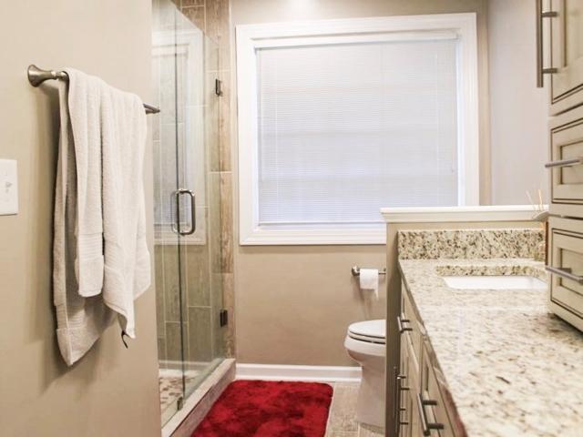 Bathroom Makeover Cary, North Carolina.