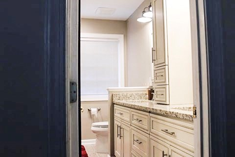 Completed Bathroom Remodeling Project Cary, North Carolina.