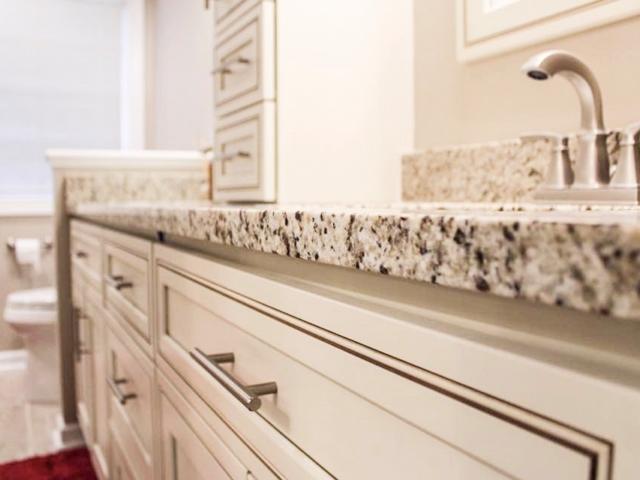 Granite Bathroom Countertops Cary, North Carolina.